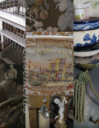 Birdcage collage