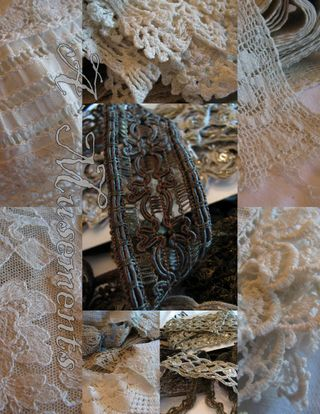 Lace collage 1
