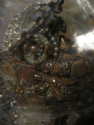 Jewelry in jar