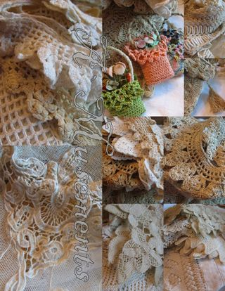 Lace collage 2